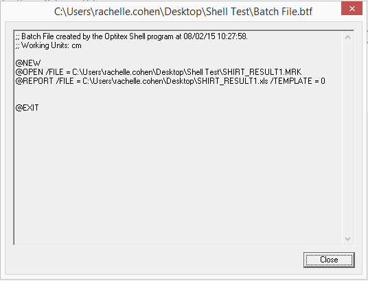 how to open application from batch file