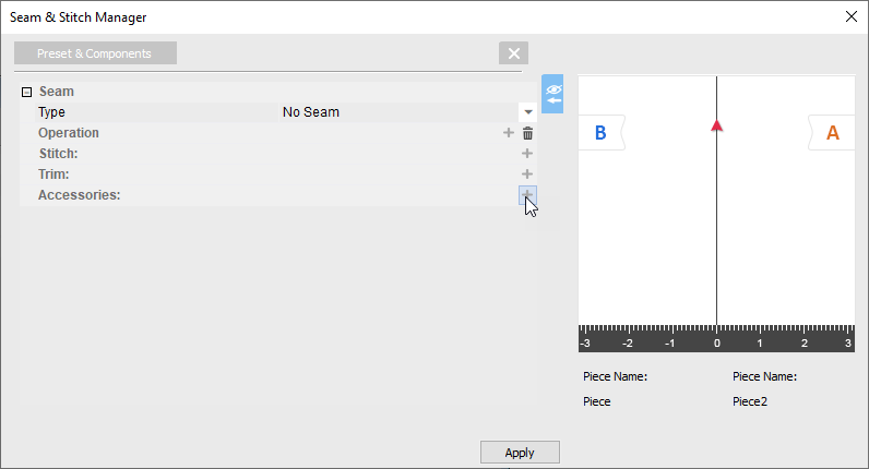 How To Use Seam-Stitch Manager On OpTitex 17 42