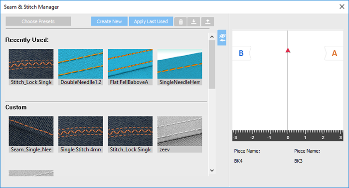 How To Use Seam-Stitch Manager On OpTitex 17 1