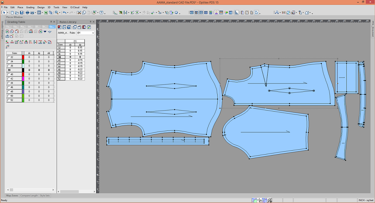 Importing a CAD File into the PDS
