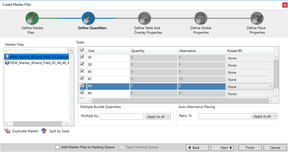 Optitex 19 How To Use Marker Creation Wizard 23