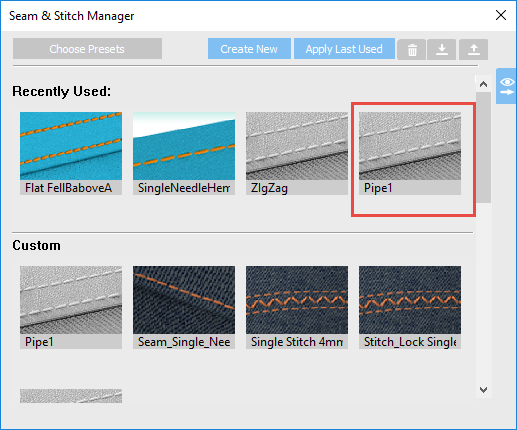 How To Use Seam-Stitch Manager On OpTitex 17 5