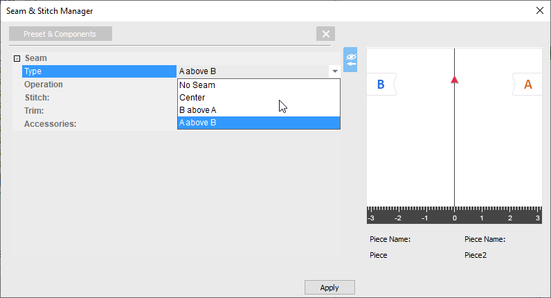 How To Use Seam-Stitch Manager On OpTitex 17 19