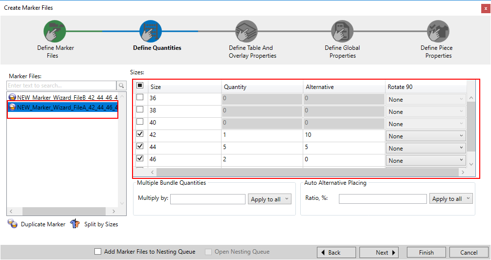 Optitex 19 How To Use Marker Creation Wizard 22
