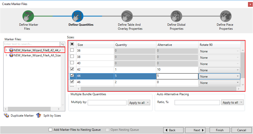 Optitex 19 How To Use Marker Creation Wizard 21