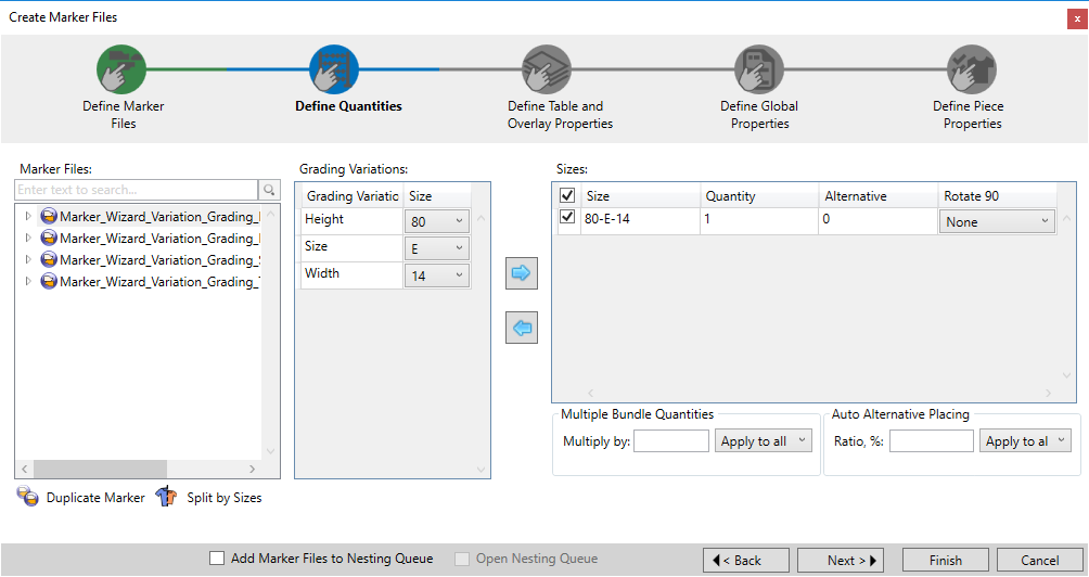 Optitex 19 How To Use Marker Creation Wizard 27