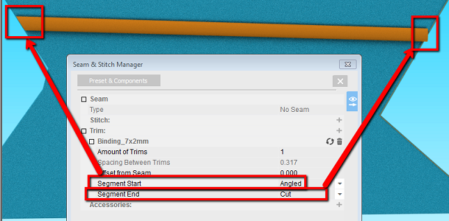 How To Use Seam-Stitch Manager On OpTitex 17 35
